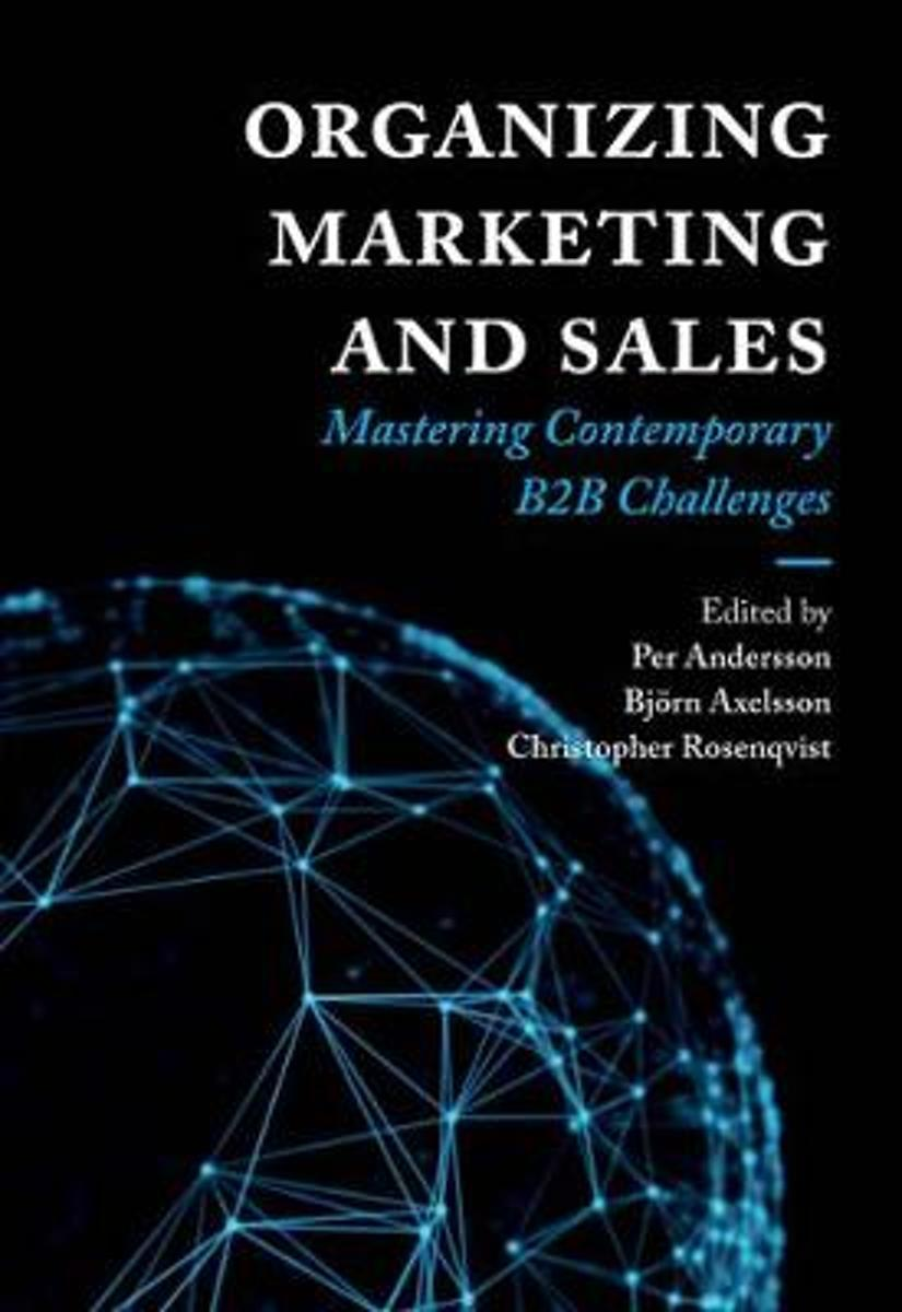 Boek Organizing Marketing & Sales